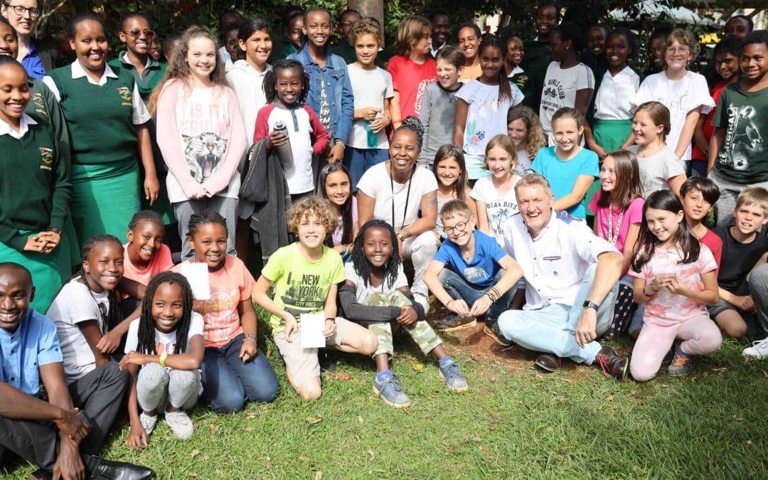 Kreativszene meets deutsche Schule Nairobi